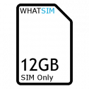 12GB 1 month iD Mobile SIM Only