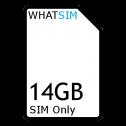 14GB 1 month Plusnet SIM Only