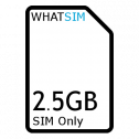2.5GB 1 month Plusnet SIM Only