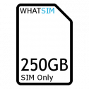 250GB 12 month O2 SIM Only