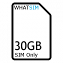 30GB 12 month BT SIM Only