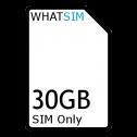 30GB 12 month Three SIM Only