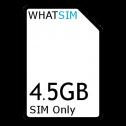 4.5GB 1 month Plusnet SIM Only